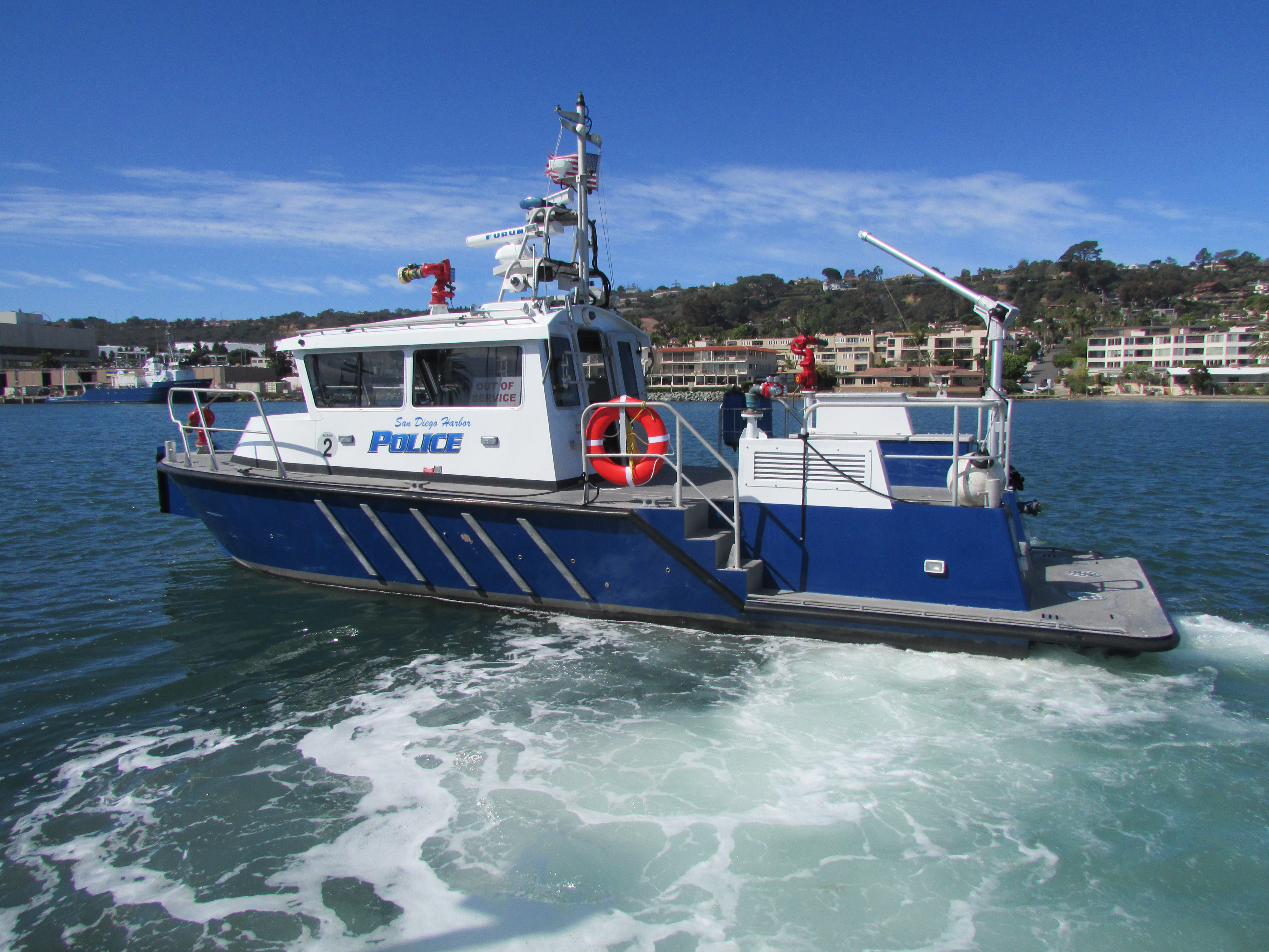 San Diego Harbor Police protect boaters, coastline