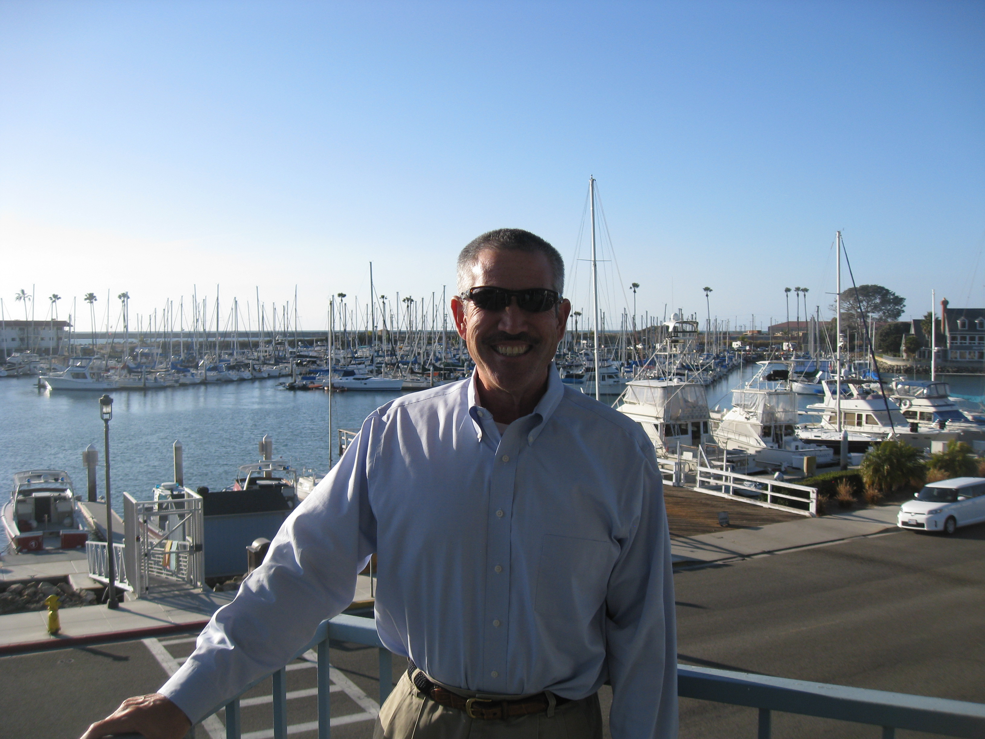 Oceanside Marina Manager Retires