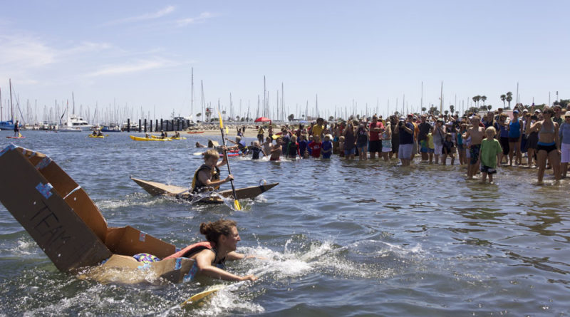 Kardboard Kayak Race is battle of 'wit, design and courage'