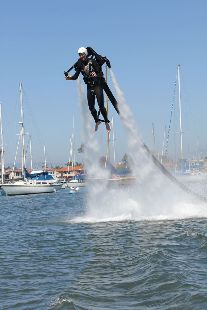 Newport Beach Harbor Commission recommends no jetpacks in harbor