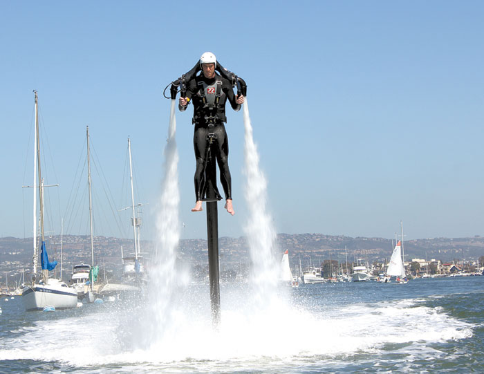 Hawaii Considers Regulating Water Jet Packs