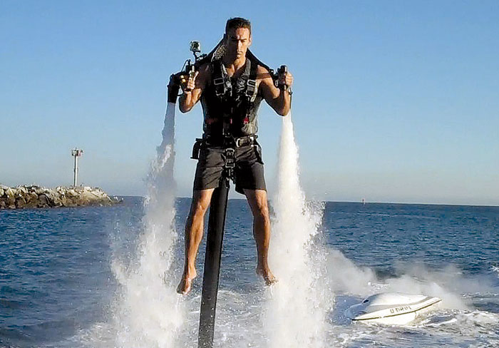 Jetpack Flier to Attempt Catalina Crossing
