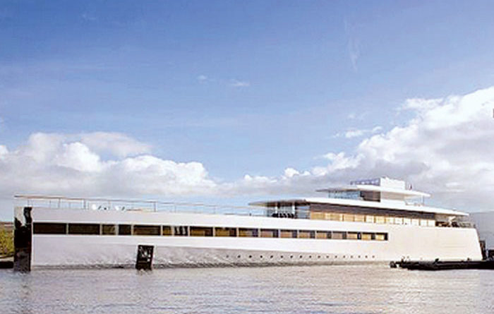 Steve Jobs' Dream Yacht Caught Up in Payment Spat