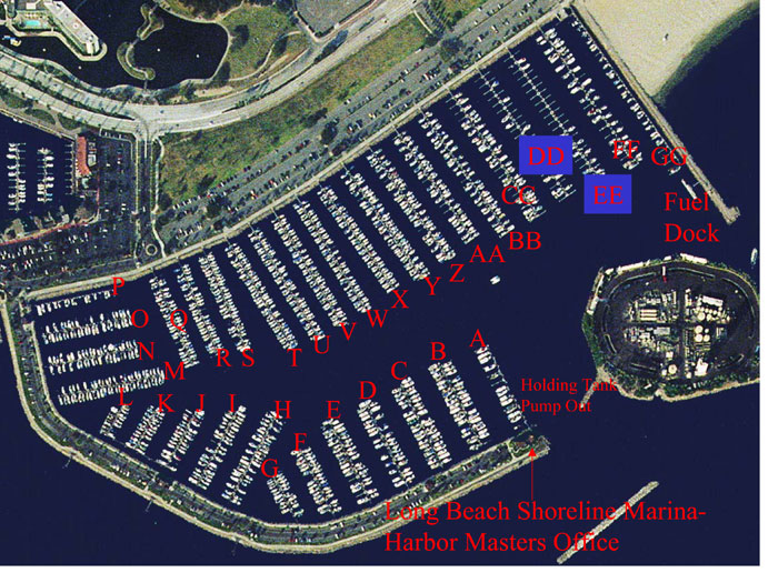 Shoreline Marina Boaters Lock Up Their Outboards