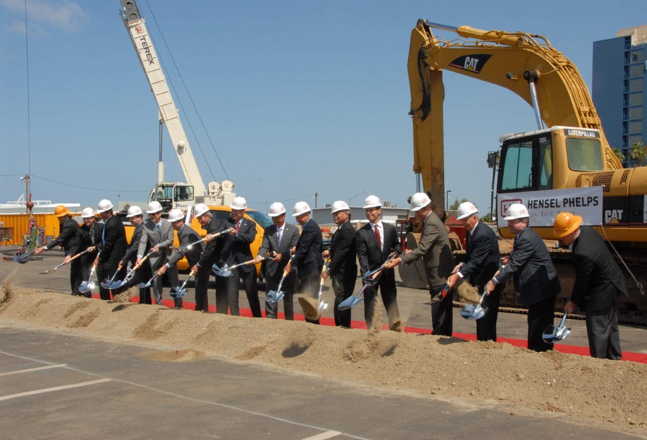 Port of San Diego breaks ground on hotels, park