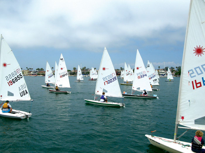 43 Compete in Newport's Flight of the Lasers