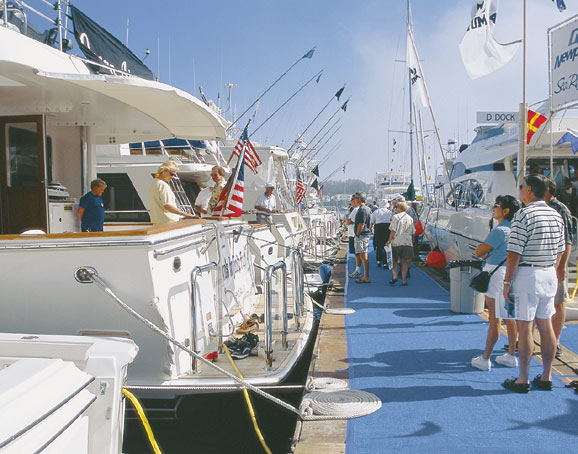 34th Annual Lido Yacht Expo -- Sept. 27-30 -- Focuses on Big Boats