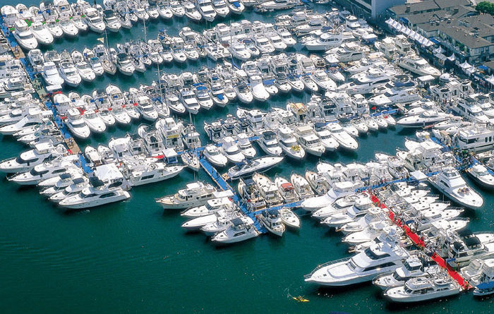 Lido Boat Show Open Through Sept. 29