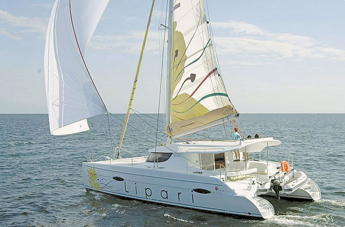 Fountaine Pajot Lipari 41 to Make West Coast Debut