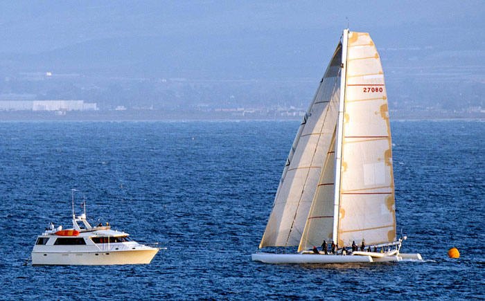 Loe Real Finishes Ensenada Race First; Pre-Sunset