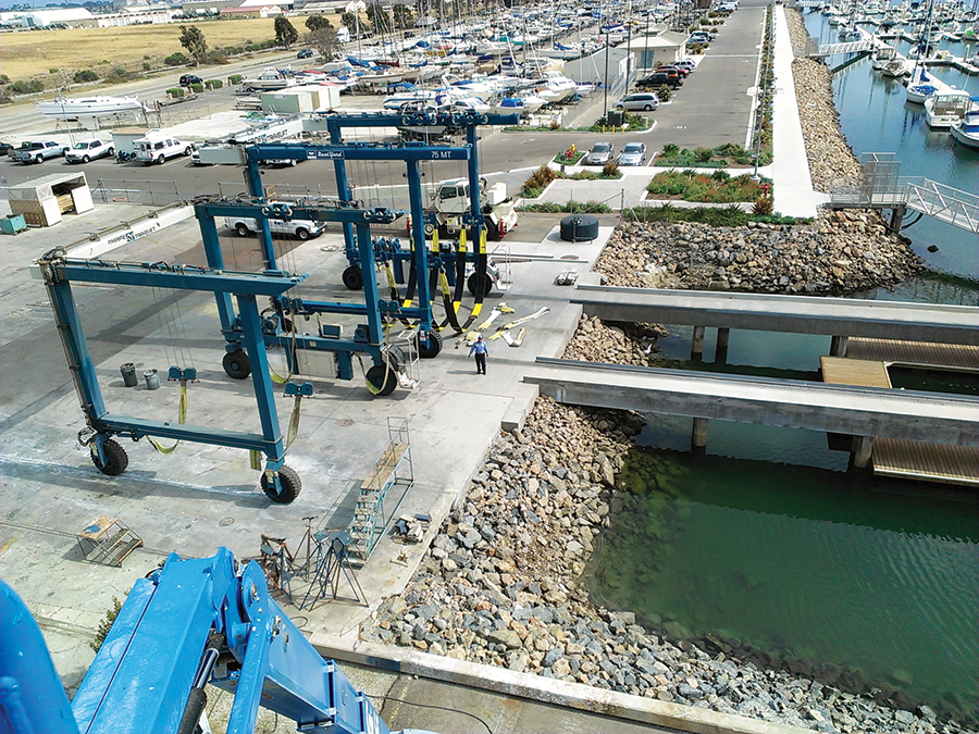Channel Islands Landing Marina and Boatyard keeps improving under new ownership