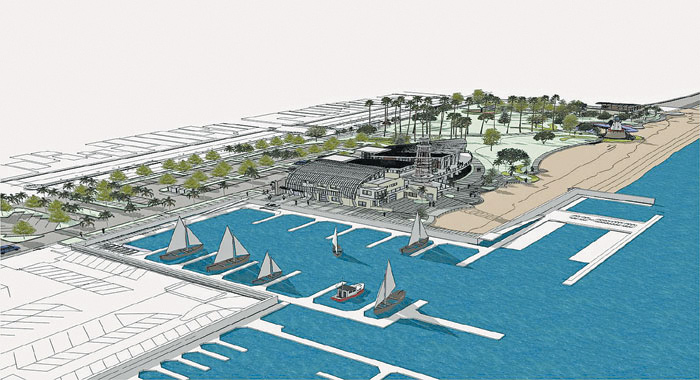 Marina Parks Docks contract narrowly approved