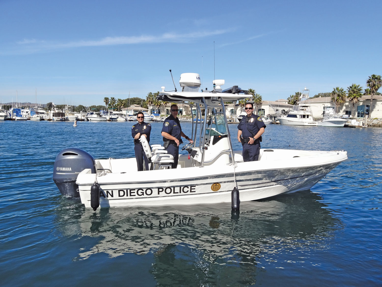 SDPD celebrates arrival of new boat
