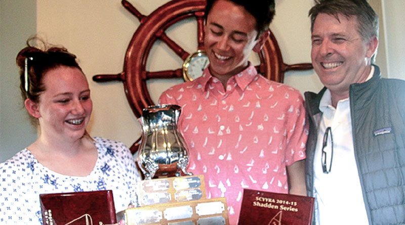 Newport Harbor YC wins Manning Regatta