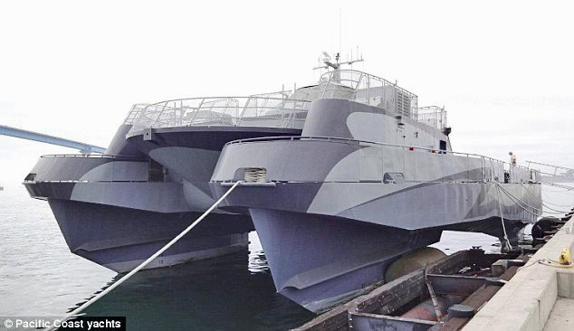 Own Lockheed Martin's experimental cruiser Sea Slice for $180,000