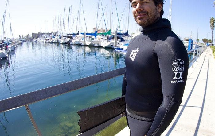 Lozano Teaches Waterman's Survival Course