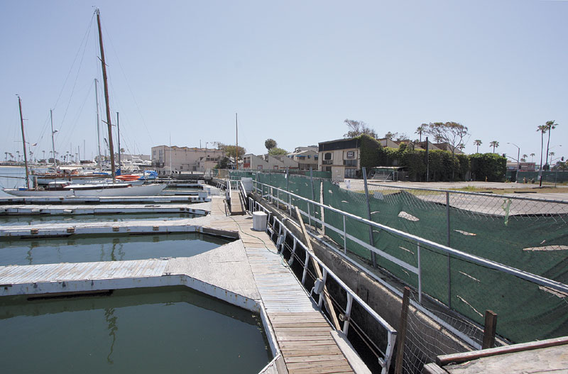 Construction Started on Newport Bay Marina Project