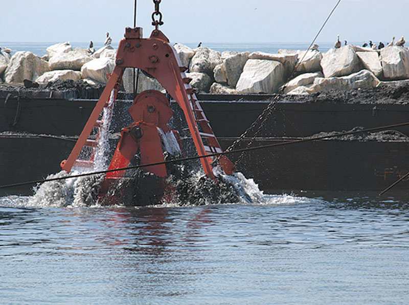 $13 Million MdR Dredging Project Under Way