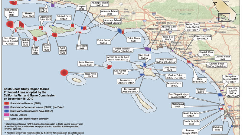 SoCal Marine Protected Areas Rejected in Legal Review
