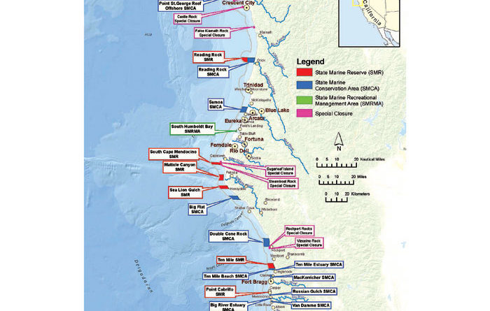 North Coast Marine Protected Areas Now in Effect