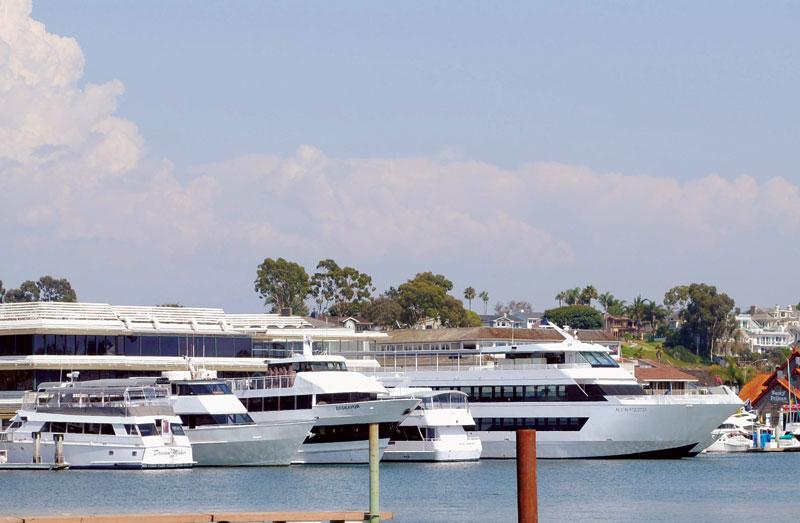 Charter Boat Leaves Newport Amid Dock Dispute