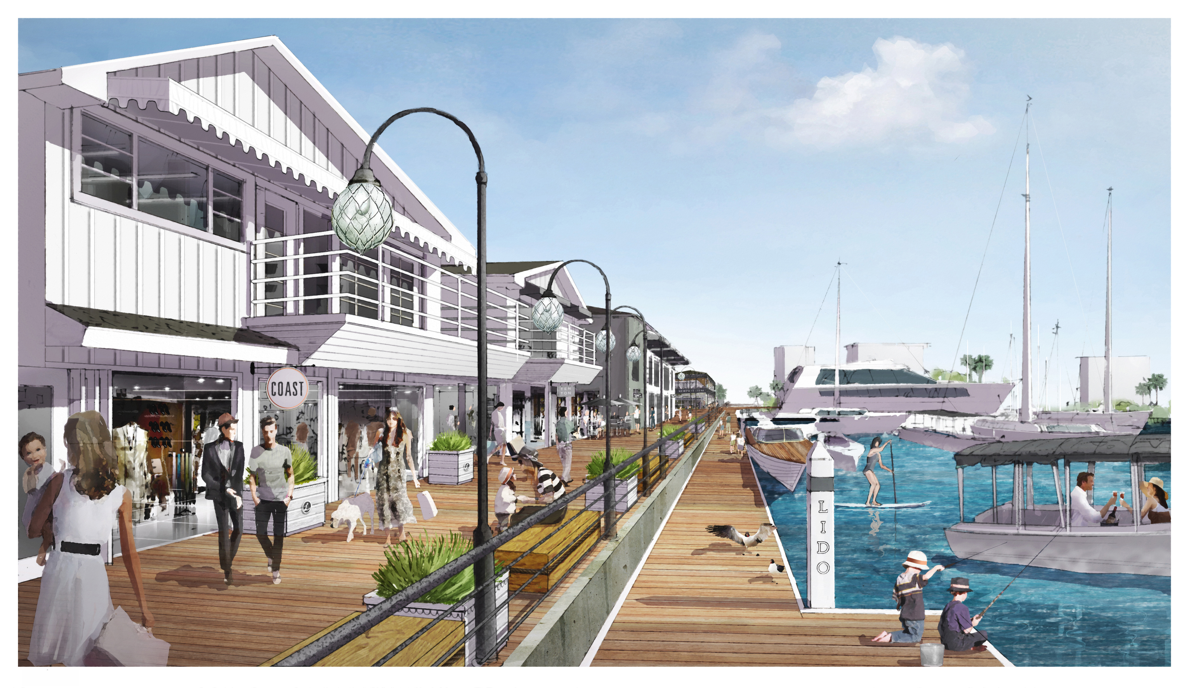 DJM Reveals Plans for Lido Marina Village