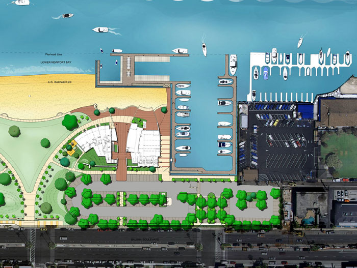Construction to Begin by Year's End on Marina Park