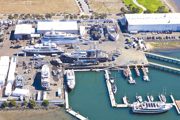 Marine Group Acquires Knight & Carver Yard Lease