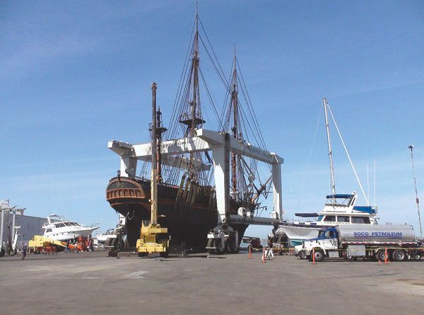 Port Extends Marine Group Boat Works' Lease