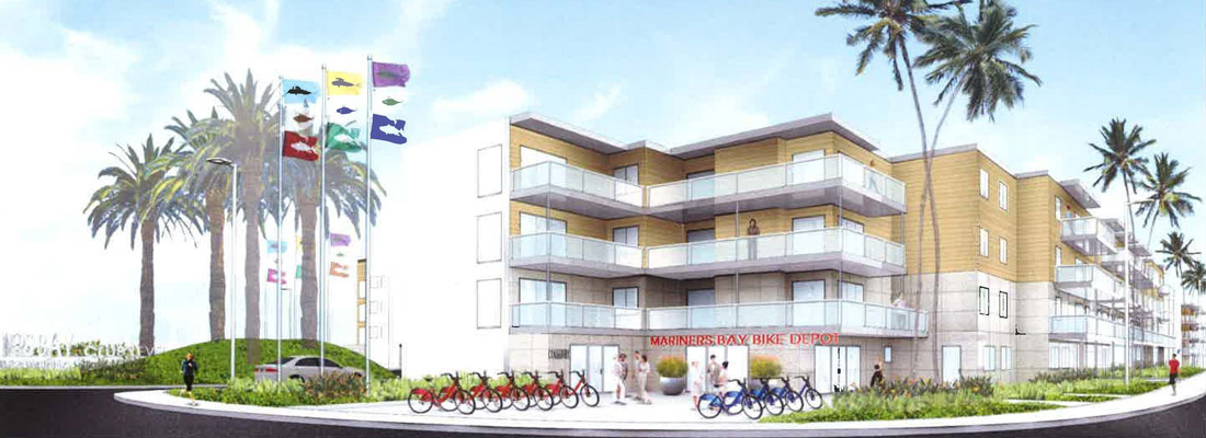 Mariners Bay Apartments redevelopment to feature upgraded marina