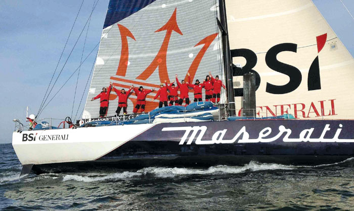 Maserati Yacht Lives Up to Its Name
