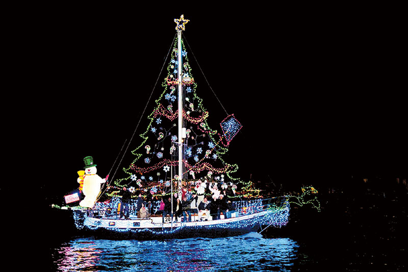 'Surf, Sand and Santa' Is Newport Boat Parade Theme