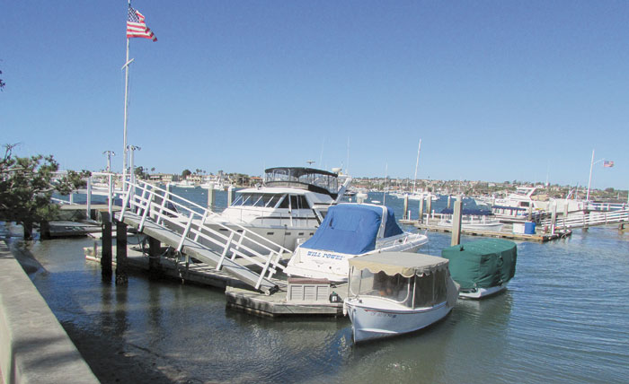 Newport Harbor Commission Reviews Objectives