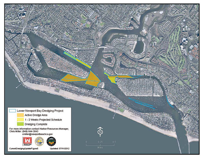 Phase 2 of Newport's Lower Bay Dredging Approved