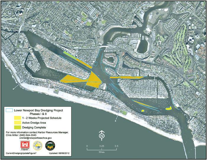 Newport Harbor Dredging Project Removes Contaminated Sediment