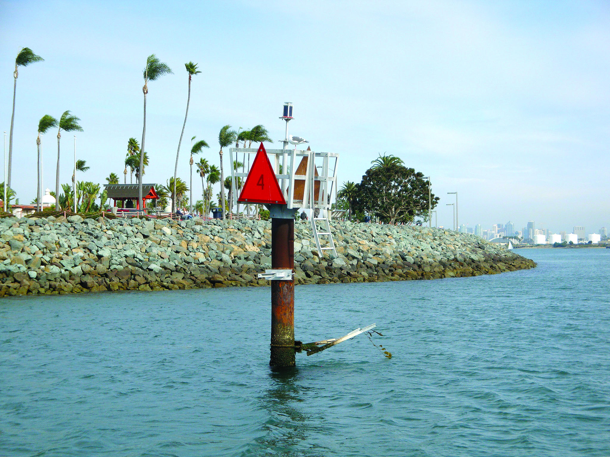 Coast Guard Warns of Damaged San Diego Navigation Marker