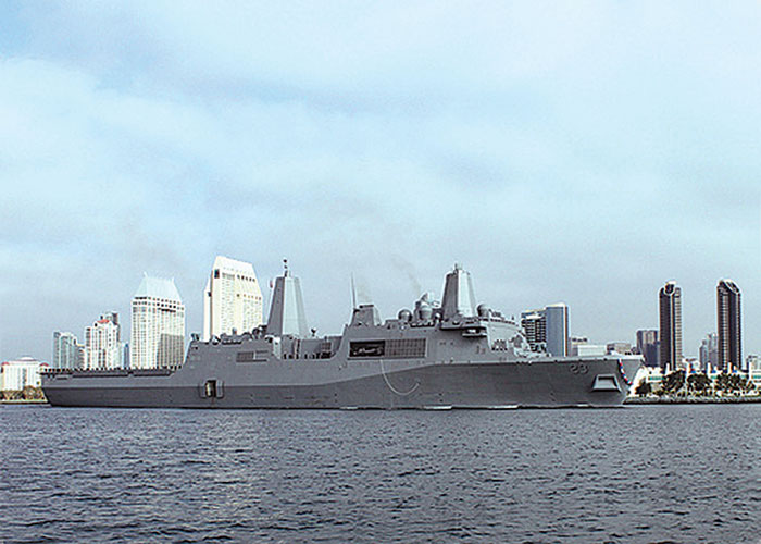 New Navy Warship Joins San Diego Fleet