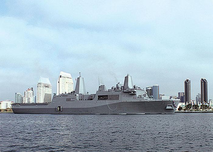 New Navy Warship Joins San Diego Fleet