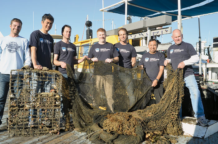 Ghost Nets: Catching and Killing Without a Cause