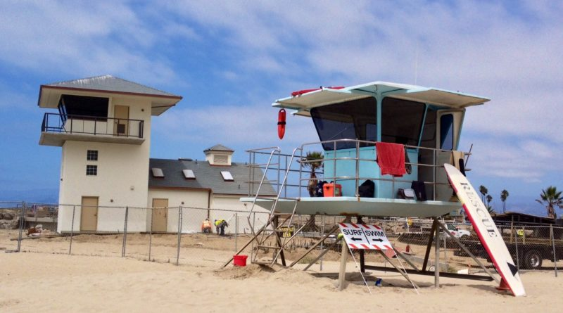 New Lifeguard Tower and restroom facility to be completed this fall