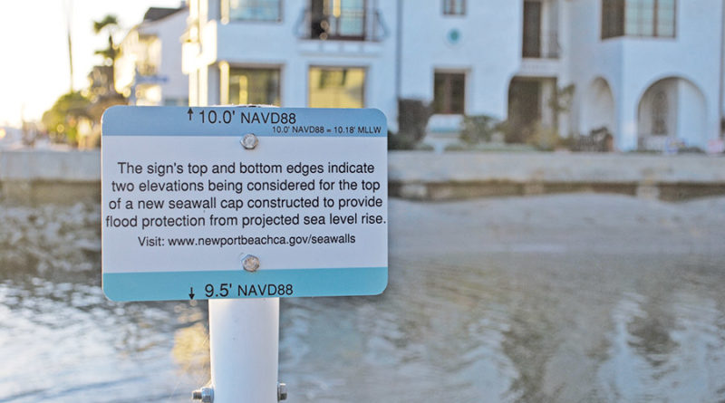 Newport Beach Harbor Commission updated on Balboa Seawalls, sea-level rise