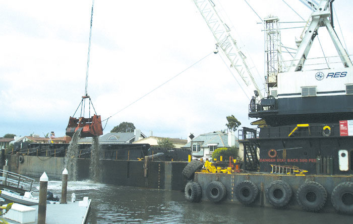 Newport Wraps Up Major Harbor Dredging Project