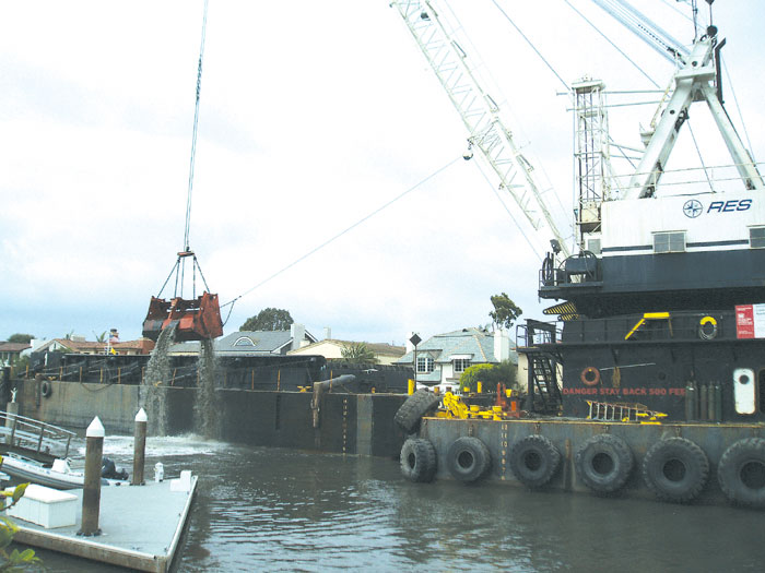 Newport Wraps Up Major Harbor Dredging Project
