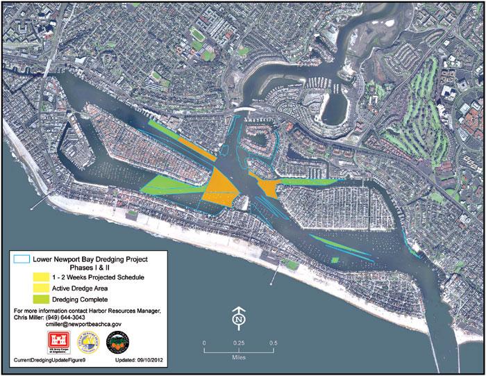 Update: Newport Harbor Dredging Continues