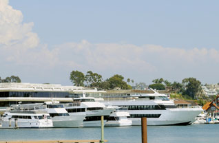 Charter Boat Docks in Newport Harbor Will Gain a Slant