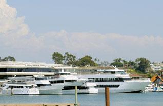 Charter Boat Docks in Newport Harbor Will Gain a Slant