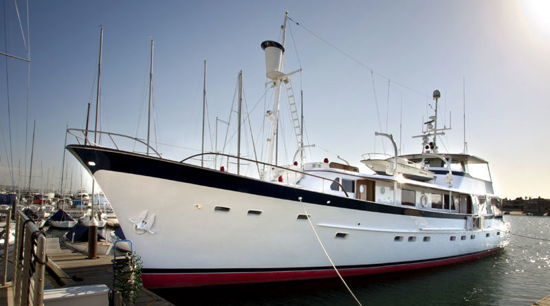 Couple Donates 92-foot Yacht to OCC Sailing Center