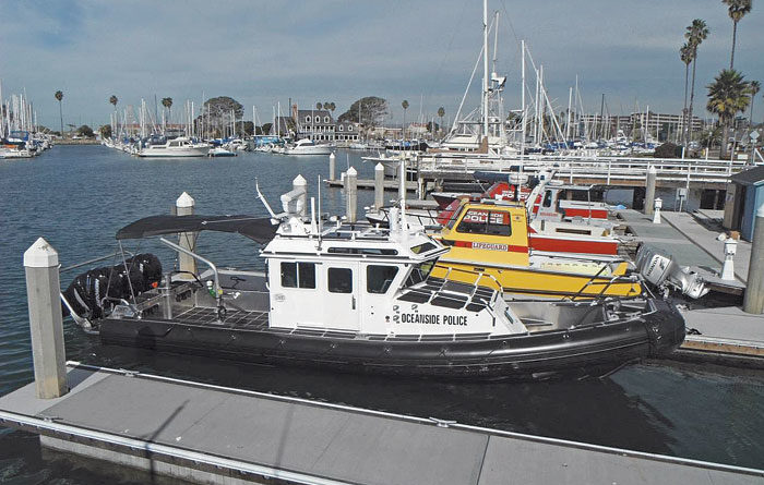 Oceanside Harbor Unit Adds New Boat to Fleet