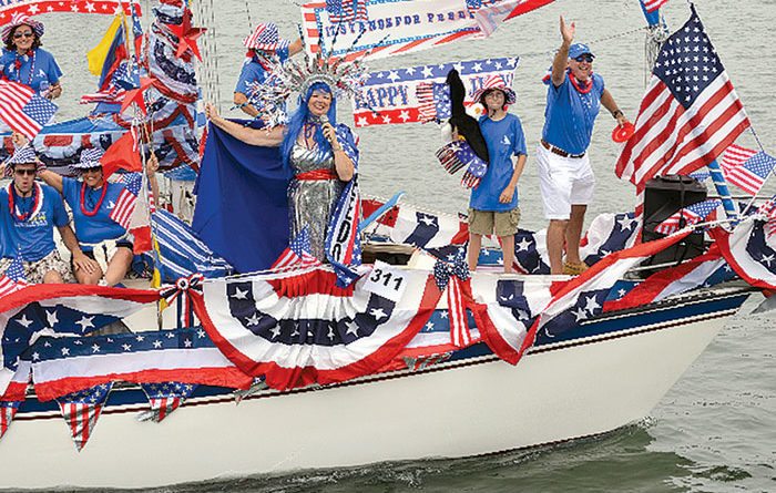 Old Glory Boat Parade Glorious Again