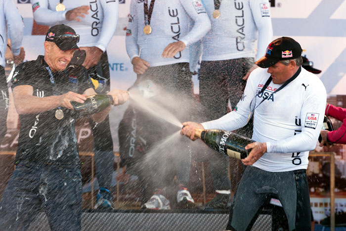 Oracle Racing's Spithill Wins at SF America's Cup World Series